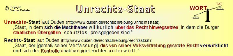 Unrechtsstaat